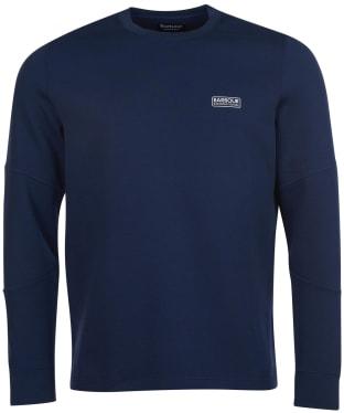 Men's Barbour International Decal L/S Tee - Dress Blue