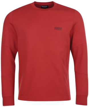 Men's Barbour International Decal L/S Tee - Root Red