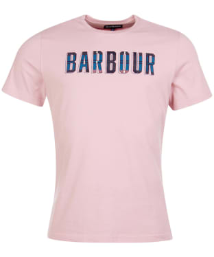 Men's Barbour Lomand Logo Tee - Faded Pink