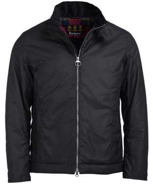 Men's Barbour Barnby Waxed Jacket - Navy