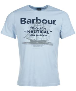Men's Barbour Vessel Tee - Blue Mist