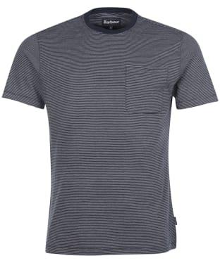 Men's Barbour Sands Stripe Tee - Navy
