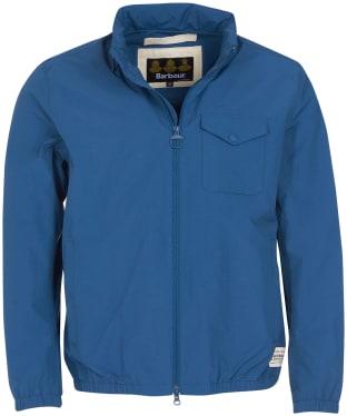 Men's Barbour Herron Waterproof Jacket - Washed Inky