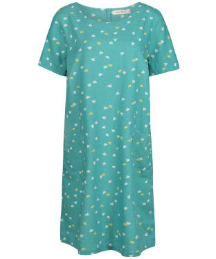 Women's Lily & Me Pocket Dress - Turquoise