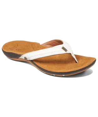 Women's Reef Miss J-Bay Flip Flops - Tan / White