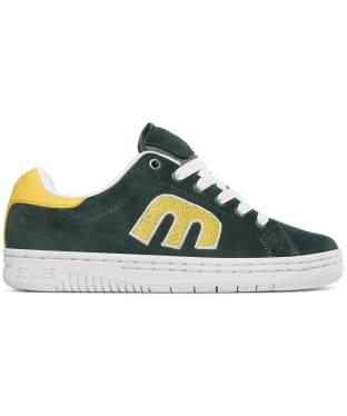 etnies Calli-Cut Skate Shoes - Green / White / Yellow
