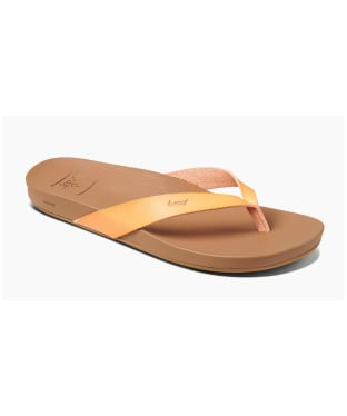 Women's Reef Cushion Bounce Court 2020 Flip Flops - Cantaloupe
