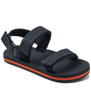 Boy's Reef Little Ahi Convertible 2020 Sandals - Littles - Grey / Orange