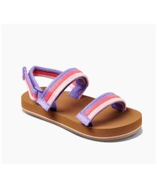 Girl's Reef Little Ahi Convertible 2020 Sandals - Kids - Sorbet