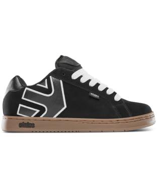 Men's etnies Fader Skate Shoes - Black / White / Gum