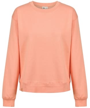 Women's Tentree TreeFleece Boyfriend Crew Sweater - Chinook Orange