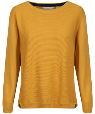Women's Lily & Me Textured Jumper - Mustard