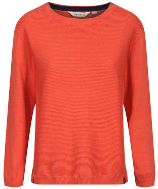 Women's Lily & Me Textured Jumper - Burnt Orange