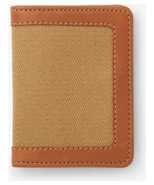 Men's Filson Outfitter Card Wallet - Tan