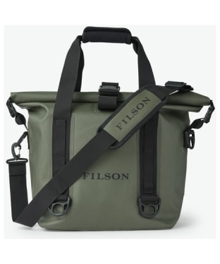 Filson Dry Roll-Top Waterproof Tote Bag - Green