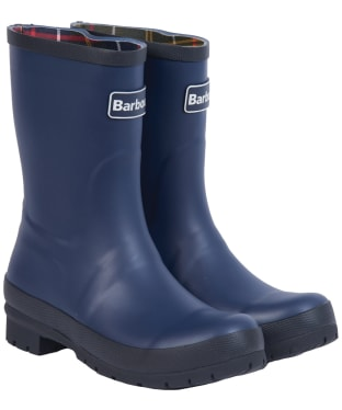 Women's Barbour Banbury Mid Wellington Boots - Navy