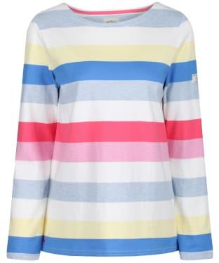 Women's Joules Harbour Long Sleeve Top - Multi Stripe