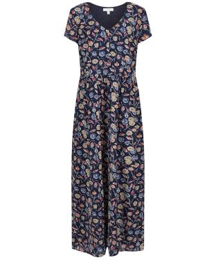 Women's Seasalt Feather Slate Dress - Ceramic Blooms Waterline