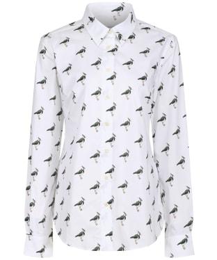 Women's Schoffel Norfolk Shirt - LAPWING PRINT