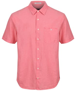 Men's Joules Breaker S/S Shirt - Coral