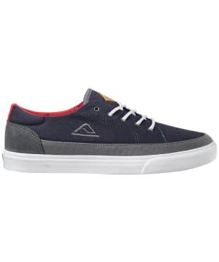 Men's Reef Society Shoes - Navy / Grey / White
