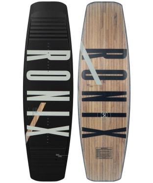 Ronix Kinetic Project Wakeboard - Springbox 2 - Black / Brown