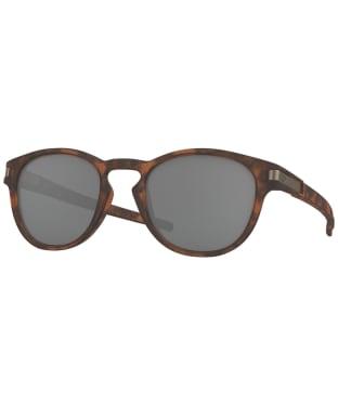 Oakley Latch Prizm Black Sunglasses - Matte Brown Tortoise