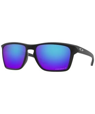 Oakley Sylas Prizm Sapphire Polarized Sunglasses - Matte Black