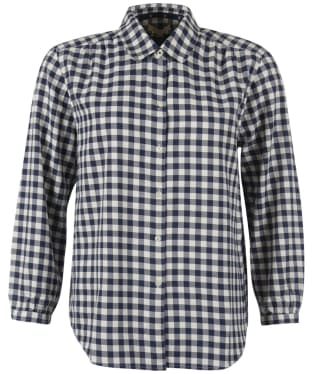 Women's Barbour Peregrine Shirt - Navy Check