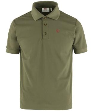 Men's Fjallraven Crowley Pique Shirt - Light Olive