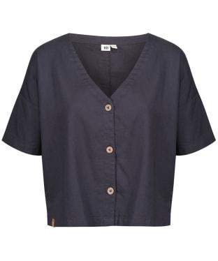 Women's Tentree Market Shirt - Periscope Grey