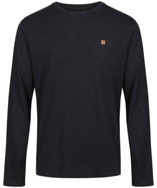 Men's Tentree TreeBlend Classic Longsleeve T-Shirt - Meteorite Black HT