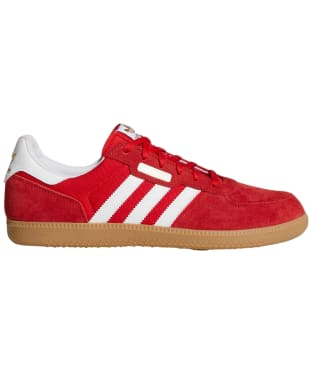 Men's Adidas Leonero Skate Shoes - Scarlet / White / Gum