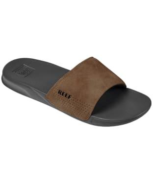 Men's Reef One Slide Sliders - Grey / Tan