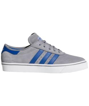 Men's Adidas Adi-Ease Premiere Skate Shoes - Grey / Royal / White
