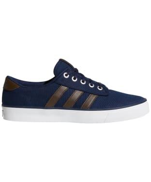 Men's Adidas Kiel Skate Shoes - Navy / Brown / White