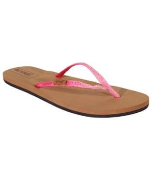 Women's Reef Slim Ginger Flip Flops - Ombre Pink