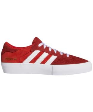 Men's Adidas Matchbreak Super Skate Shoes - Brick / White / Gold