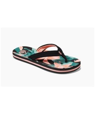 Girl's Reef Ahi Flip Flops - Kids - Hibiscus