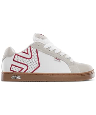 Men's etnies Fader Skate Shoes - White / Tan