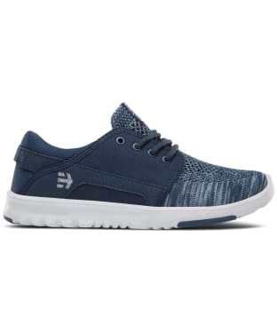 Women's etnies Scout Yarn Bomb Trainers - Navy / Blue