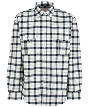 Men's Filson Alaskan Guide Shirt - Cream / Black