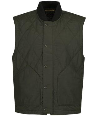 Men's Filson Quilted Pack Vest - Dark Otter Green