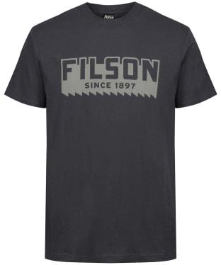 Men's Filson S/S Ranger Graphic T-Shirt - Faded Black