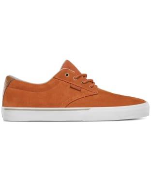 etnies Jameson Vulc Skate Shoes - Brown / White