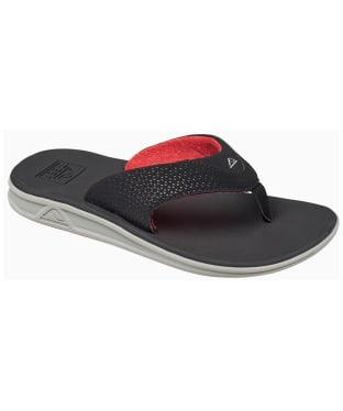 Men's Reef Rover Flip Flops - Grey / Black / Red