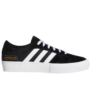 Men's Adidas Matchbreak Super Skate Shoes - Black / White / Gold