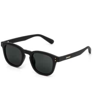 Carve Havana Polarized Sunglasses - Matt Black