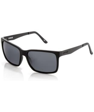 Carve The Island Non-Polarized Sunglasses - Matt Black
