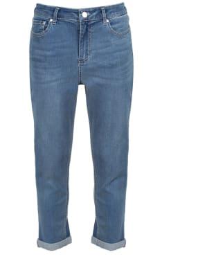 Women's Joules Monroe Crop Jeans 2021 - Light Denim